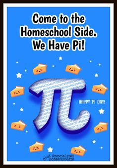 Some children just don't enjoy math. To help change that, today we're celebrating Pi Day in a fun, hands-on, and educational way! Preschool Learning Activities, Hands On Activities, Teaching Math, Fun Learning, Kindergarten Homeschool Curriculum, Homeschooling, Elementary Math, Math Lessons, Mathematics
