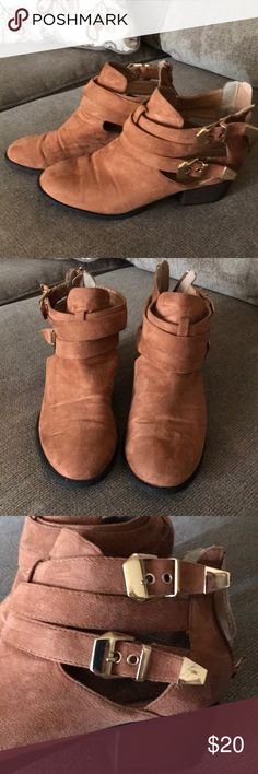 Boots Nice boots in size 9 Charlotte Russe Shoes Ankle Boots & Booties