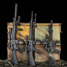 The Black Nitride BCG in MK12 MOD 0, MK12 MOD 1, and Knights Armament 300 BLK…