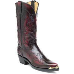 TR755 - Durango Black Cherry Brush-Off Western Boot $104.99