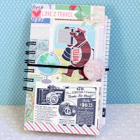 PaperVine: Travel Girl Journal (October Afternoon)