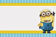 Las 15 Mejores Imágenes De Invitaciones De Minions Para