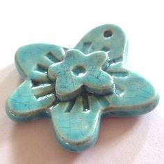 Handmade Clay Beads, Pottery & Ceramic Pendants & Jewellery by Peruzi