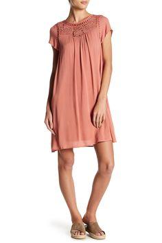 Crochet Lace Short Sleeve Dress by Doe & Rae on @HauteLook  $40