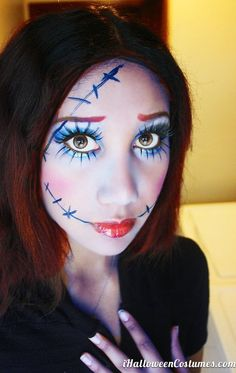 doll makeup for Halloween - Halloween Costumes 2013