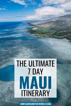 Planning a trip to Maui, Hawaii and looking for a solid 7 day itinerary? I've put together the ultimate guide to a weeklong Maui trip. You'll find the best things to do, where to stay, food recommendations, the best day trips, and more! With its scenic coastal roads, dozens of beautiful beaches, wondrous luxury resorts, gorgeous national parks, and pristine marine biodiversity - there truly is a little something for everybody on the island! It was an unbelievable vacation I'll never forget. Maui Travel, Usa Travel, Travel Destinations, Trip To Maui, Maui Vacation, Old Lahaina Luau, Luxury Resorts, Adventure Bucket List, Helicopter Tour