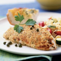 IBS Safe Chicken Scallopini