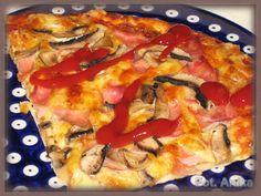 Domowa kuchnia Aniki: Pizza na cienkim cieście - jak z pizzerii