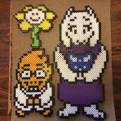Undertale perler beads by  malena_weller