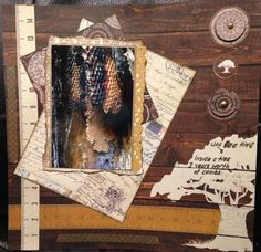 NATURE - $15. Created using Simple Stories Legacy Collection. Contact Deborah kitsandbits1@gmail.com