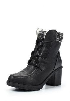Черные ботильоны от Betsy - это удобная модель по доступной цене. Детали: материал верха - искусственная кожа, внутреннее оформление представлено искусственным мехом и текстилем, молния на щиколотке облегчает надевание, широкий каблук устойчив. http://j.mp/1nlokJx