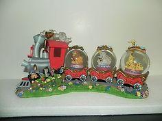 Casey Jr and Dumbo Disney Circus Train Musical Snow Globe 2004   eBay