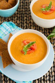 5-Minute Cream of Tomato Soup (GF)