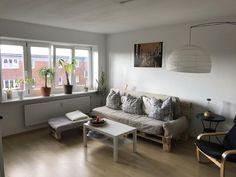 Hier Besteht Die Gesamte Couch Ecke Aus DIY Mobeln Sieht Das Nicht Schick