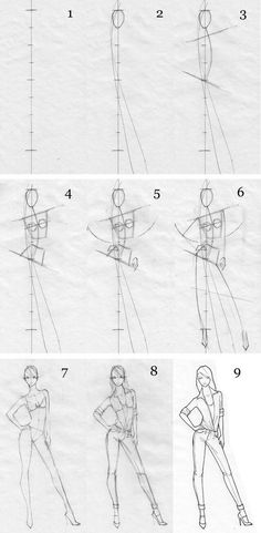 fashion illustration tutorial
