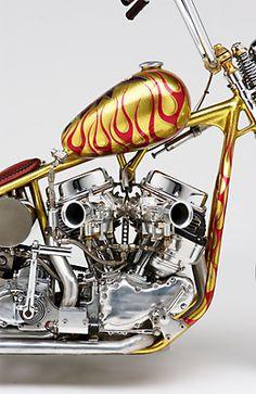 ◆ Visit ~ MACHINE Shop Café ◆ Indian Larry Custom HD Panhead OCH Shovel Re-pinned by machineshopcafe.com
