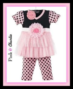 At The Fairy Tale Shop, We Do Adorable.... Everyday!!  Now Available in Size 12-18 Months Love, Pink & Charlie