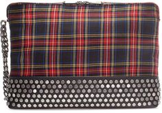 Checked Xl Clutch - Zara