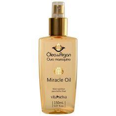 Minha musa: RESENHA: Spray Finalizador Miracle Oil Óleo de Arg...