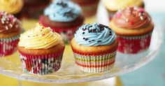 Fabulosa receta para Masa para hacer cupcakes, magdalenas y muffins . Receta tradicional de cupcakes, magdalenas y muffins.