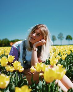 #photography #dutch #tulips #fashion #outfit #model