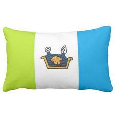 Flag Of Tequixquiac (Mexico) Throw Pillows