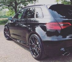 Black Audi RS3 Black Audi, Audi Rs3, Custom Cars, A3, Vehicles, Car Tuning, Pimped Out Cars, Cars, Vehicle