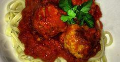 Italian Meatballs with Italian Tomato Sauce