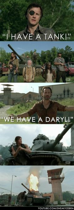 The Walking Dead.... We have a Daryl!