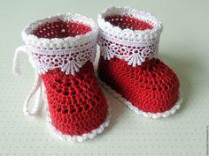 Купить Пинетки вязаные для девочки - пинетки, пинетки для новорожденных, пинетки крючком, продам пинетки в чите