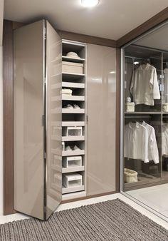 59 Ideas For Bedroom Wardrobe Storage Ideas Sliding Doors Closet Walk-in, Bedroom Closet Storage, Corner Closet, Bedroom Closet Design, Wardrobe Storage, Sliding Wardrobe, Wardrobe Doors, Bedroom Wardrobe, Bedroom Cupboard Designs