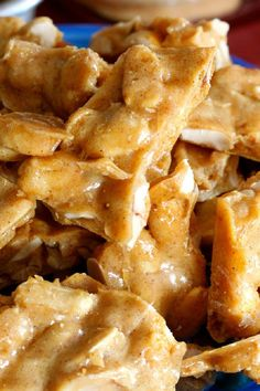 Microwave Peanut Brittle Fall Dessert #Recipe