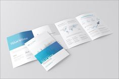 Square Trifold Brochure Mockup By Toasin Studio On Creativemarket