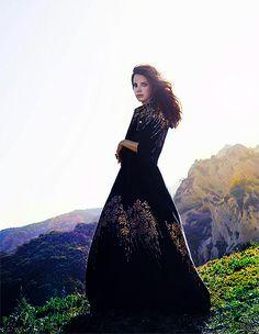 Shimmering Pleats - Blumarine Fall Winter 2014/2015 • Lana Del Rey for Madame Figaro