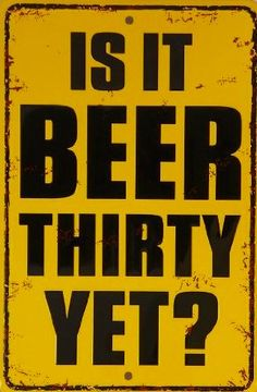 I say YES! #Beer