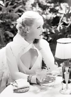 Bette Davis in Ex-Lady (1933). Loved that gown! Designed by Orry Kelly.