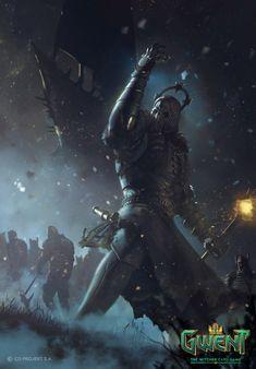 "theamazingdigitalart: "" The amazing digital art of Marek Madej The Art of the Witcher: Gwent Gallery Collection "" The Witcher 3, The Witcher Books, Witcher Art, Witcher Monsters, Witcher Tattoo, Wild Hunt, Video Game Art, Video Games, Dark Souls"