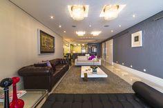 Apartamento na Mooca Sala de Estar Projeto - Enzo Sobocinski Arquitetura