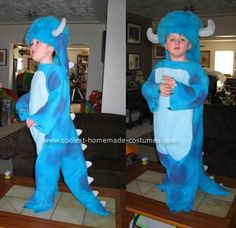 Coolest Sully from Monsters Inc. Costume 6. Homemade ...  sc 1 st  Pinterest & Pitcher Family Adventures: Sully From Monsters Inc. Costume Tutorial ...