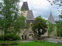 Burg Ottenstein, Waldviertel, Niederösterreich, Austria  There is a lake behind where we canoed after lunch
