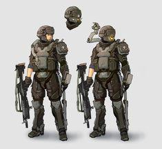 Soldier, zhang yu on ArtStation at https://www.artstation.com/artwork/soldier-ac417711-33d5-4062-a8f7-8ba4b232ec31