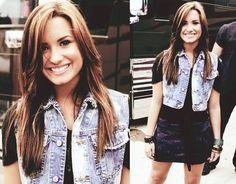 Demetria Lovato. I loooove this hair color