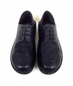 NAOT Shoes Leather Black Israel Lace Up Comfort Athletic Oxford Womens 9 9 5 40 | eBay