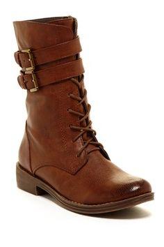 Elegant Yency Lace-Up Boot