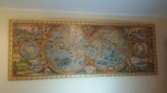 Puzzle de 6000 piezas de Heye - Mapa histórico montado por Xavier Gomis