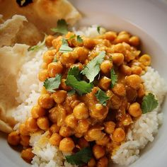 Chickpea Curry with Rice | The Pioneer Woman Cooks | Ree Drummond