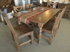 Beautiful Red Oak #FarmTable by Mississippi Farm Tables