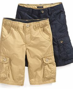 Tommy Hilfiger Kids Shorts, Boys Back Country Cargo Shorts