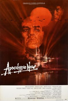 Apocalypse Now Vietnam War Francis Ford Coppola USA / 1979 / Cinema Posters / Bob Peak / 104x70 Original vintage… / MAD on Collections - Browse and find over 10,000 categories of collectables from around the world - antiques, stamps, coins, memorabilia, art, bottles, jewellery, furniture, medals, toys and more at madoncollections.com. Free to view - Free to Register - Visit today. #Posters #Cinema #MADonCollections #MADonC