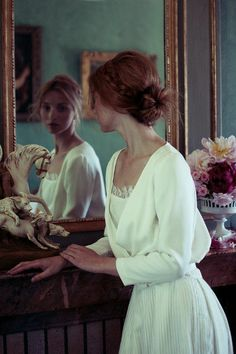 Veste Geneviève et Robe de mariée Chloé, Élise Hameau - EN IMAGES. Dix robes de mariée de la collection 2014 Élise Hameau - L'EXPRESS